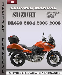 Suzuki DL650 2004 2005 2006 manual