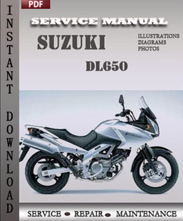 Suzuki DL650 manual