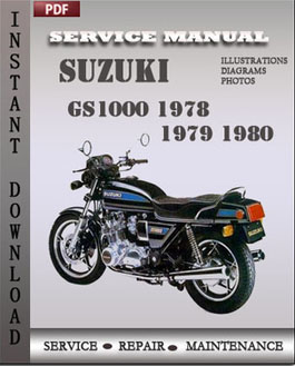 Suzuki GS1000 1978 1979 1980 manual