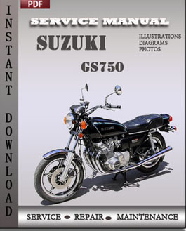 Suzuki GS750 manual