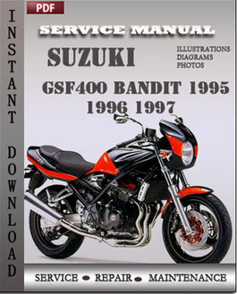 Suzuki GSF400 Bandit 1995 1996 1997 manual