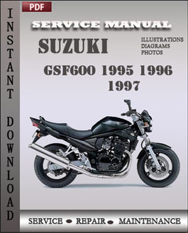 Suzuki GSF600 1995 1996 1997 manual