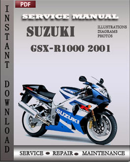 Suzuki GSX-R1000 2001 manual