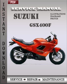 Suzuki GSX400F manual