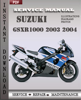 Suzuki GSXR1000 2003 2004 manual