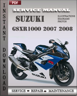 Suzuki GSXR1000 2007 2008 manual
