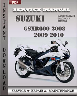 Suzuki GSXR600 2008 2009 2010 manual