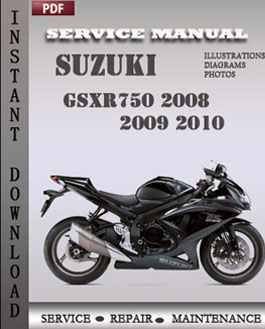 Suzuki GSXR750 2008 2009 2010 manual
