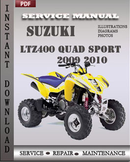 Suzuki LtZ400 Quad Sport 2009 2010 manual