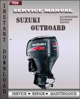 Suzuki Outboard DF90 DF100 DF115 DF140 Four Stroke manual
