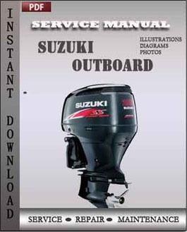 Suzuki Outboard Df90, Df100, Df115, Df140 2003 2004 2005 2006 manual
