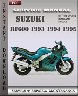 Suzuki RF600 1993 1994 1995 manual