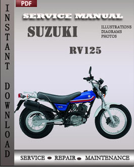 Suzuki RV125 manual