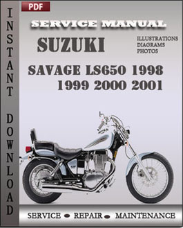 Suzuki Savage LS650 1998 1999 2000 2001 manual