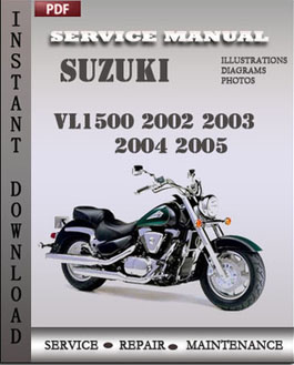 Suzuki VL1500 2002 2003 2004 2005 manual