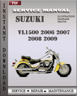 Suzuki VL1500 2006 2007 2008 2009 manual