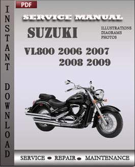 Suzuki VL800 2006 2007 2008 2009 manual