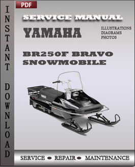 Yamaha BR250F Bravo Snowmobile manual