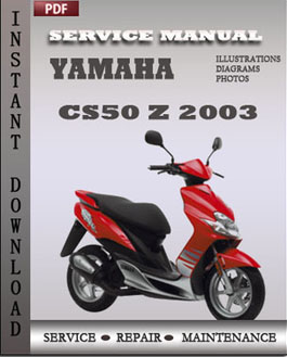 Yamaha CS50 Z 2003 manual