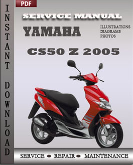 Yamaha CS50 Z 2005 manual