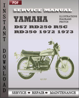 Yamaha DS7 RD250 R5C RD350 1972 1973 manual