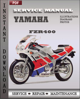 Yamaha FZR400 manual