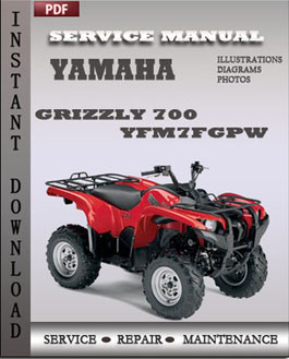 Yamaha Grizzly 700 YFM7FGPW manual