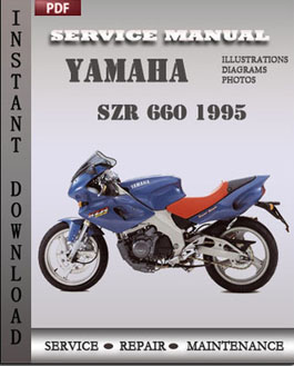 Yamaha SZR 660 1995 manual