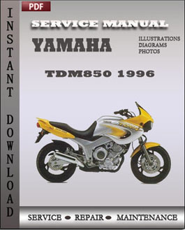 Yamaha TDM850 1996 manual