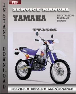 Yamaha TT350S manual