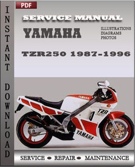 Yamaha TZR250 1987-1996 manual