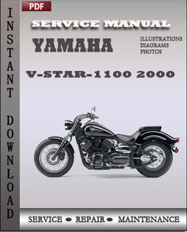 Yamaha V-Star-1100 2000 manual