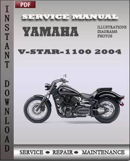 Yamaha V-Star-1100 2004 manual