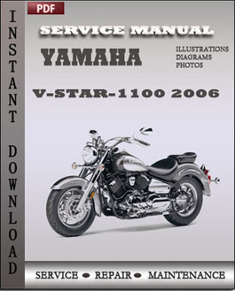 Yamaha V-Star-1100 2006 manual