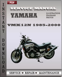 Yamaha VMX12N 1985-2000 manual