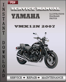 Yamaha VMX12N 2007 manual