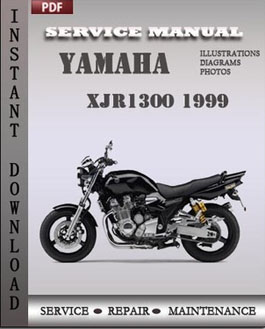 Yamaha XJR1300 1999 manual