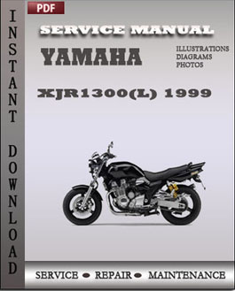 Yamaha XJR1300(L) 1999 manual