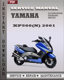 Yamaha XP500(N) 2001 manual