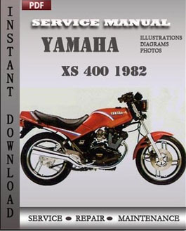 Yamaha XS 400 1982 manual