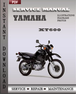 Yamaha XT600 manual