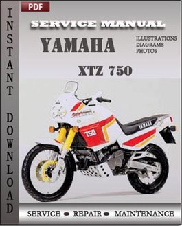 Yamaha XTZ 750 manual