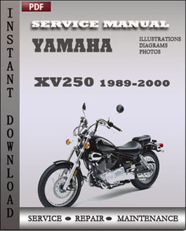 Yamaha XV250 1989-2000 manual