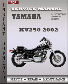 Yamaha XV250 2002 manual