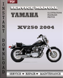 Yamaha XV250 2004 manual