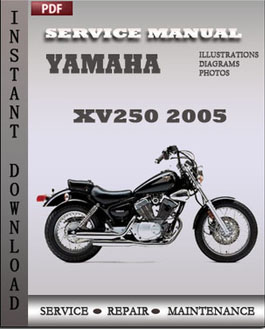 Yamaha XV250 2005 manual