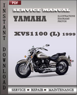 Yamaha XVS1100 (L) 1999 manual