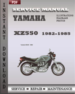 Yamaha XZ550 1982-1985  manual