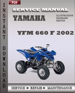 Yamaha YFM 660 F 2002 manual
