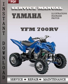 Yamaha YFM 700RV manual